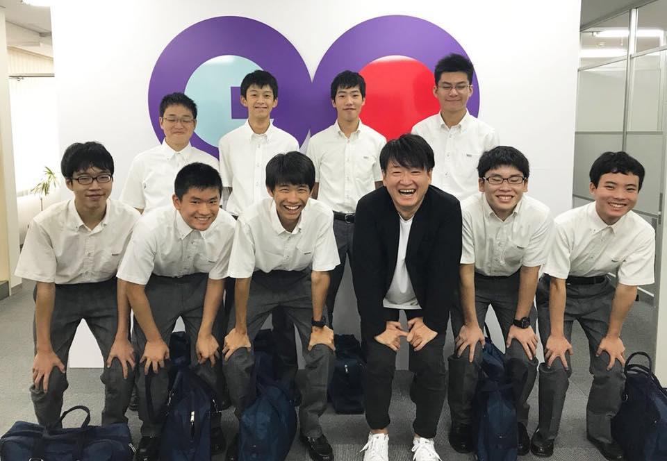 『ジョブtabi』企画で代表の竹内が高校生からインタビューを受けました。