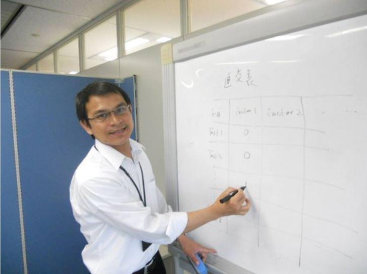 海外企業との窓口を担当、英語と日本語で円滑な運営が実現。