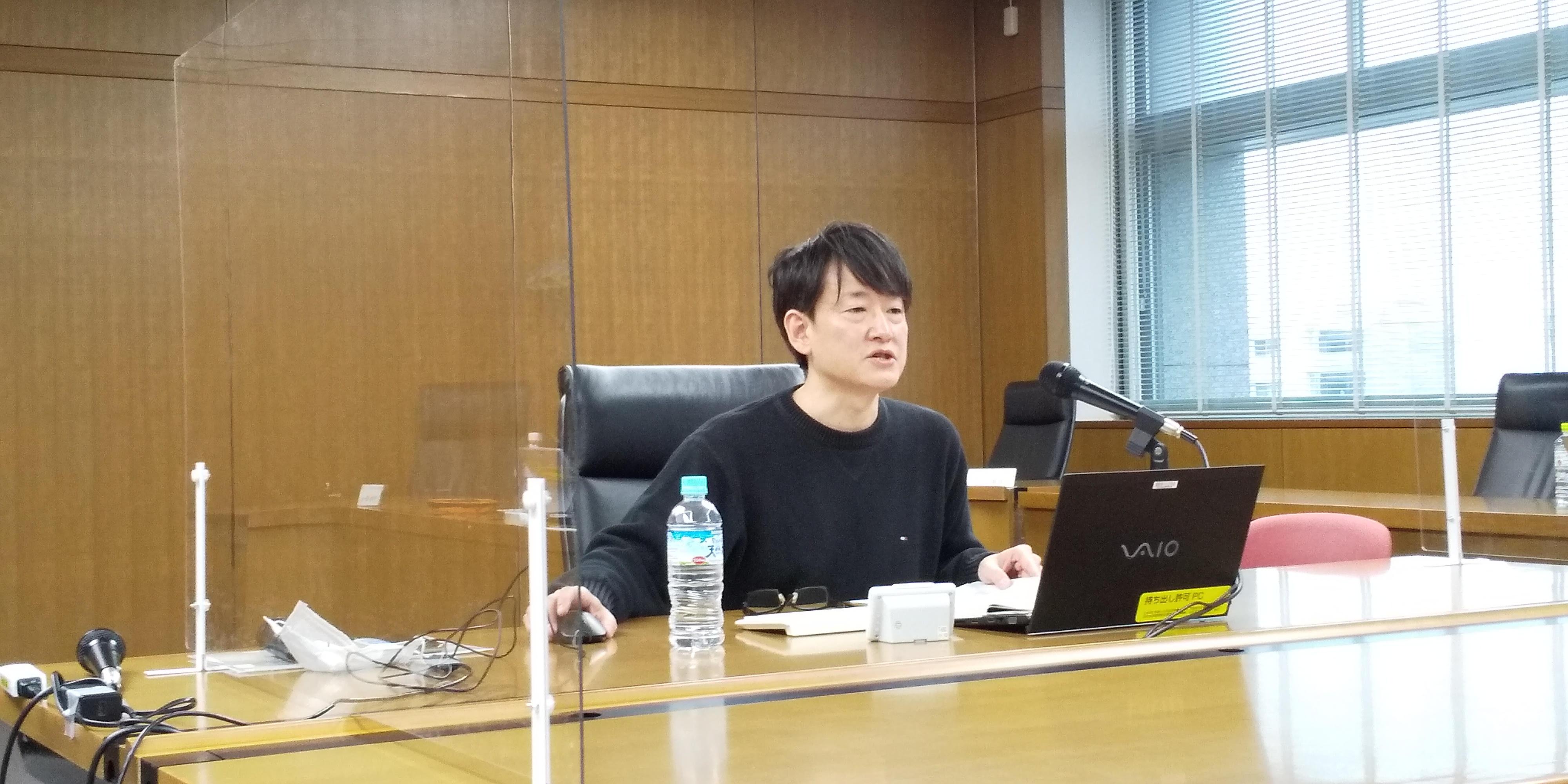 日本生活協同組合連合会の本部にて代表取締役の竹内が講演をいたしました